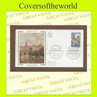 France 1980 Montauban silk First Day Cover
