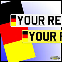 GERMAN Number Plates, Show Plates, CAR PLATES.