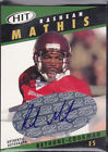 2003 SAGE HIT Autographs Emerald #A36 Rashean Mathis