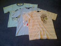 3 Boys T-shirts age 9 years