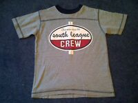 Boys grey with logo T-shirt age 7/8 years