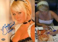 Sara Jean Underwood Signed Playboy 8x10 Photo PSA/DNA COA Picture Autograph 2007
