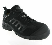 Mens CAT Caterpillar Formation Black Composite Safety Toe Cap Trainers Size 6-11