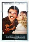 BEST FRIENDS GOLDIE HAWN ORIGINAL CINEMA RELEASE 1 SHEET MOVIE POSTER