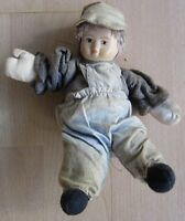 Wunderschöne Porzellanpuppe Puppe Mädchen Sammler Selten Porzellan Kopf 16 hoch