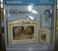 Bunny Luv Baby Boy Photo Frame and Monitor by Westinghouse – NEW