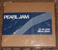 PEARL JAM New 2X CD BILBAO SPAIN 7-9-10 bootleg concert