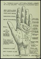 13 OLD BOOKS PALMISTRY CD HAND CHEIROMANCY FORTUNE TELLING ANTIQUE COLLECTION
