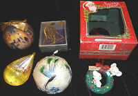 BARBIE CHRISTMAS BALL 1997 MICE WREATH GOLD PLATED BELL LOVE DECORATION LOT @@