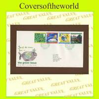 G.B. 1992 The Green Issue set on Royal Mail First Day Cover, Torridon
