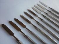 Set of 10 Amalgam Mixing Spatula Surgical Dental Instrument Excellent Quality UK