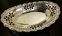 Platters & Trays, The Bailey Banks, and Biddle Sterling Silver Pierced Tray