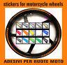 adesivi ruote moto zx6r strisce cerchi zx10r strip ruote ninja gia precurvati