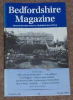 BEDFORDSHIRE MAGAZINE 1982 LUTON HOO/CECIL HIGGINS/MARSTON MORETAINE