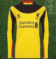 BNWT Official Warrior Liverpool Goalkeeper Away Shirt - All Sizes - LFC - GK