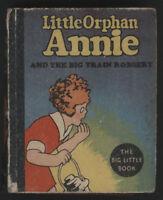"Little Orphan ANNIE  in ""Big Train Robbery"", BLB, 1934"