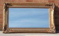 5FT x 3FT Ornate Gold Gilt Monte Carlo Mirror Large Antique 155cm x 90cm