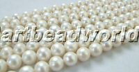 wholesale A 10-11MM white round freshwater pearl beads
