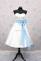 c360 wedding dress bridal gown short 1950s 60s 50s two tone sweetheart neckline