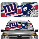 New York Giants Licensed NFL Reflective Car Windshield Sun Shade Automotive auto
