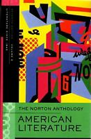 Norton Anthology of American Literature 7e V E (2007, Paperback)
