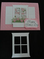 SMALL WINDOW Die Cut YOUR CHOICE OF ANY COLOR Stampin Up for cards & scrapbo