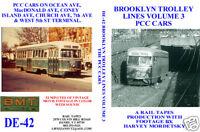 DVD: Brooklyn New York NYC Trolley Volume 3 PCC Cars Trolley Streetcar Tram