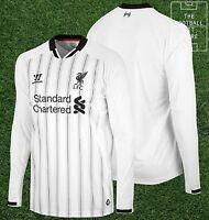 BNWT - Official Warrior Liverpool Goalkeeper Shirt - Boys / Kids - All Sizes GK