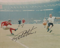 SIR GEOFF HURST England 1966 World Cup GENUINE Signed Photo + COA West Ham