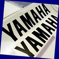 """Yamaha BLACK 3.5"""" 8.9cm decals stickers raptor yzf r1 rz r6 fz09 fz 09 fz6r 250"""