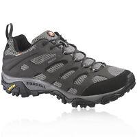 Merrell Mens Moab Black Gore-Tex Waterproof Walking Hiking Boots Shoes Sneakers