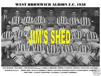 WEST BROMWICH ALBION F.C.TEAM PRINT 1958 (HOGG/CARVIN)
