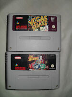 THE BRAINIES & VAGAS STAKES SUPER NINTENDO GAME PACK (SEE SHOP)