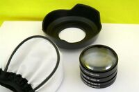 MACRO Close Up Lenses Lens kit for Panasonic Lumix DMC G-6, G6, G-6K, G6K