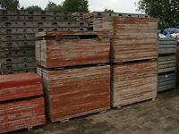 Schaltafel, Schaltafeln, Schalung, Deckenschalung, Holz, Bauholz