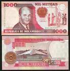 MOZAMBIQUE 1000 Meticais 1991 UNC P 135