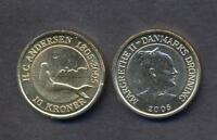 DENMARK 10 kroner  2005 Little Mermaid UNC