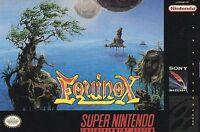 EQUINOX SNES SUPER NINTENDO GAME COSMETIC WEAR