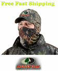 Mossy Oak Face Mask 3/4  - Lightweight Hunting Mask - Mossy Oak Break Up Camo