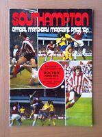 SOUTHAMPTON V BOLTON WANDERERS 1974-75
