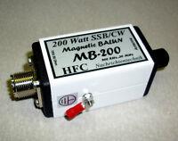 MB-200 Magnetic Balun, Langdrahtbalun 0,5-30 MHz, 200 W