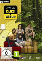 Gusto Games/Nat Geo Quiz Wild Life (PC, 2010, DVD-Box) neu u. ovp/PC