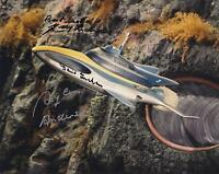 GERRY ANDERSON & SYLVIA ANDERSON SIGNED STINGRAY PHOTOGRAPH - UACC RD AUTOGRAPH
