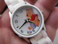 WINNI THE POOH, Disney Licenced, in Box, Rubber Band, LADIES/KIDS, WATCH 020