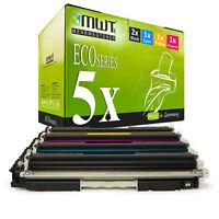 5x MWT Toner für HP Color LaserJet Pro CP 1026 1027 1028 Future Light Serie