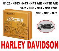 N-COM NOLAN BÁSICO KIT2 MCS x N103 - N43 AIRE - N85 - N90 HARLEY DAVIDSON