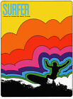 "Surfer Mag Cover, ART PRINT, Retro Surfing, 20x14"" CANVAS poster, SURF"
