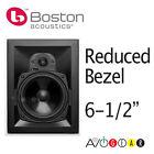 "Boston Acoustics HSi275 6.5"" Reduced Bezel Vanishing In-Wall 2-WAY Speaker"