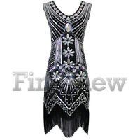 Vintage 1920s Flapper Dress Fringe Charleston Downton Abbey Great Gatsby Costume