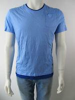 G-Star Raw Herren T-Shirt New Hagen Shirt Blau Neu L